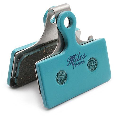 Miles Racing E-Bike Fahrrad Disc Brake Pads für Shimano XTR, XT, Rever, MCX1 Post Mount, FSA Afterburner u.v.a.