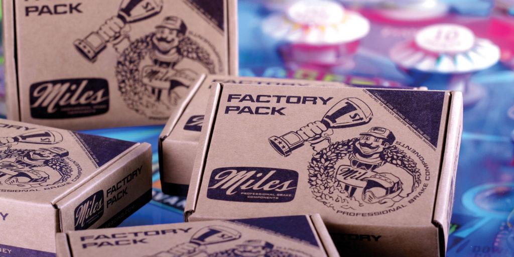 Miles Racing Bremsenservice Werkstattverpackungen
