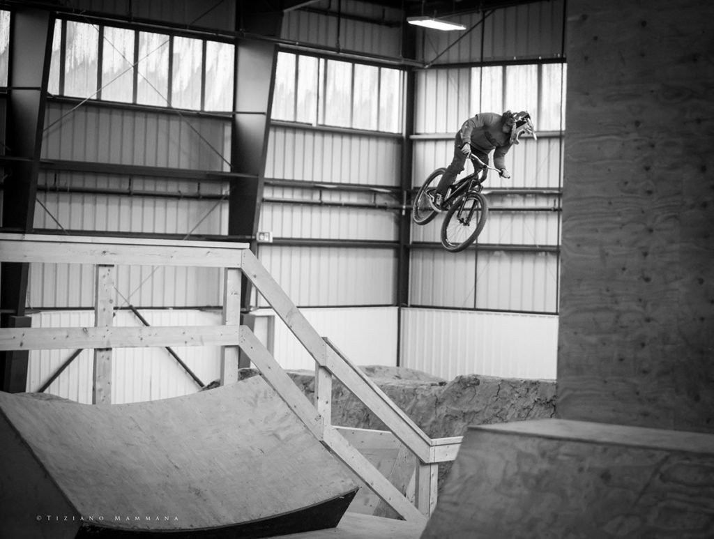 miles racing team page - Travis Morris spinning a mellow 360°